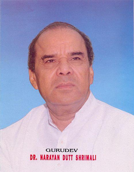Dr. Narayan Dutt Shrimali