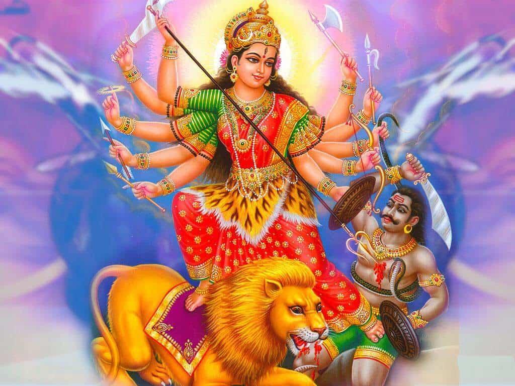 Durga (Mahishasura Mardini)